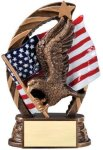 Eagle - Running Star Series - Medium Pinewood Derby and Scouts
