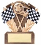 Car Show - Racing Resin Award Pinewood Derby Individual Trophy/Award
