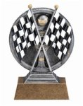 Car Show - Racing Motion Xtreme Resin Trophy Pinewood Derby Individual Trophy/Award