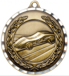 2 Pinewood Derby Diamond Cut Medal Pinewood Derby Medals