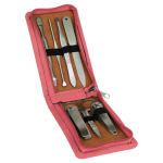 Manicure Gift Set  - 7 Tool Pink Gift Items and Awards