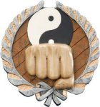 Karate Plaque with Full Color Mount Plaques | Economy