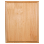 Genuine Red Alder with Wood Etch Plaques | Economy