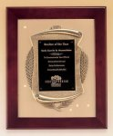 Rosewood Piano Finish Frame Plaque with Cast Relief Relief Cast Plaques