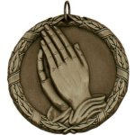 Praying Hands - XR Medallion Religion