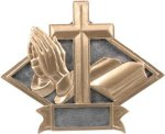 Religious - Diamond Plate Resin Trophy Religion
