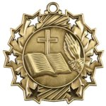 Religious - Ten Star Medal Religion