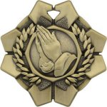Praying Hands - Imperial Medal Series Religion