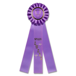 Special Award - Classic Three Streamer Rosette Award Ribbon Rosette Ribbons - Three Streamer