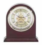 Plymouth Rosewood Arch Clock Rosewood Clocks