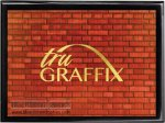 Tru Graffix Red Brick and Black Piano Finish Plaque     Sales