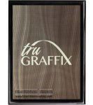Tru Graffix Gray Wave and Black Piano Finish Plaque Sales
