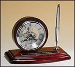 Skeleton Clock and Rosewood Pen Set Sales