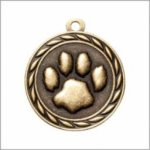 Paw Print - Scholastic Medal Series Scholastic Medals