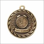 Perfect Attendance - Scholastic Medal Series Scholastic Medals