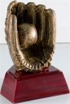 Baseball/Softball - Gold Figure Resin Softball Award Trophies
