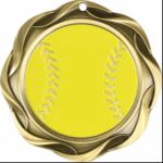 Softball - Fusion Medal Softball Medals