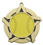 Softball - Super Star Medal Softball Medals