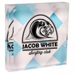 Full Color Acrylic Paperweight - 3 X 3 Square Rectangle Awards