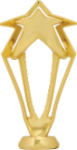 3-D Rising Star Figure on Round Base Star Awards