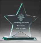 Star Jade Glass Award Star Awards