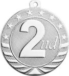 Starbrite 2 - 2nd Place (Silver Only) Starbrite Medallion - 2