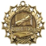 Honor Roll - Ten Star Medal Ten Star Medal