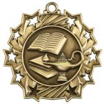 Lamp of Knowledge - Ten Star Medal Ten Star Medal