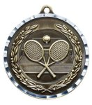 Diamond Cut Medal - Tennis Tennis and Pickleball Medals