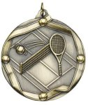Tennis - Ribbon Medallion Tennis and Pickleball Medals
