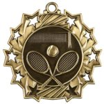 Tennis - Ten Star Medal Tennis and Racquetball Awards and Trophies