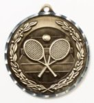Diamond Cut Medal - Tennis Tennis and Racquetball Awards and Trophies