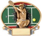 Tennis (Female) - Xplosion Oval Tennis and Racquetball Awards and Trophies