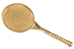 Tennis - Chenille Pin Tennis, Racquetball and Pickleball Awards and Trop