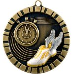 Track - 3-D Medallion Track and Field and Cross Country Award Trophies