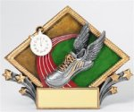 Track - Diamond Plate Resin Trophy Track and Field and Cross Country Award Trophies