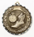 Diamond Cut Medal - Track Track and Field and Cross Country Award Trophies