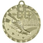 Bright Medal - Cross Country Track and Field and Cross Country Medals