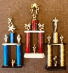 Custom Two Tier Trophies | Traditional