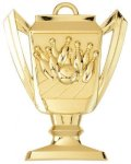 Bowling - Trophy Cup Medallion Trophy Cup Medallion