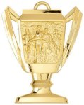 Cross Country - Trophy Cup Medallion Trophy Cup Medallion