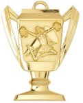 Cheerleading - Trophy Cup Medallion Trophy Cup Medallion