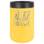 Polar Camel Stainless Steel Vacuum Insulated Beverage Holder - Yellow Tumblers
