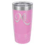 20 oz Light Purple Coated Ringneck Tumbler with Lid     Tumblers