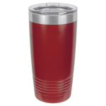 20 oz Maroon Coated Ringneck Tumbler with Lid        Tumblers