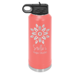 40 oz. Polar Camel Water Bottle - Coral Tumblers and Travel Mugs