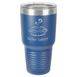 30 Oz Royal Blue Coated Ringneck Tumbler with Lid Tumblers and Travel Mugs