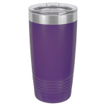 20 oz Purple Coated Ringneck Tumbler with Lid      Tumblers and Travel Mugs