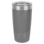 20 oz Dark Gray Coated Ringneck Tumbler with Lid       Tumblers and Travel Mugs