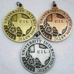 UIL Medal - 1.25 Without District UIL Medals